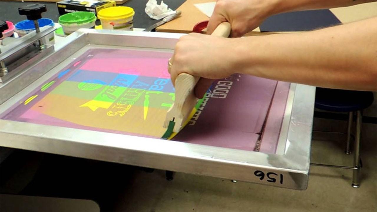 Serigrafie directa pe Suport Textil