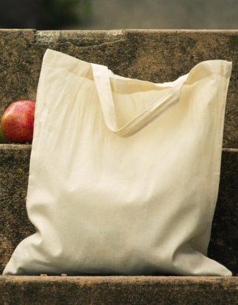 Sacosa din bumbac organic cu manere scurte - Organic Cotton Shopper SH